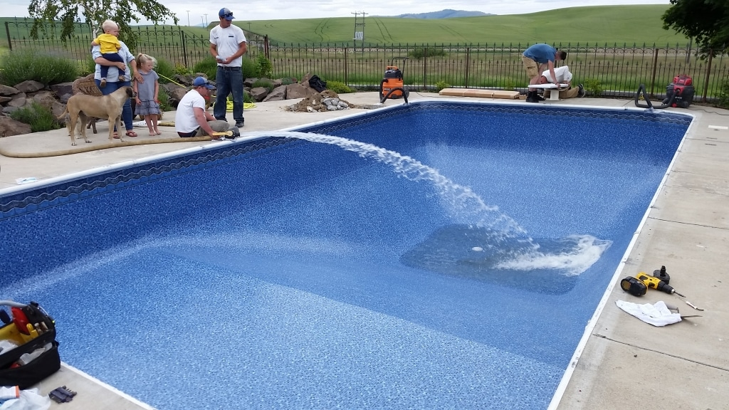 Swimming Pool Liner The Pool Service Company